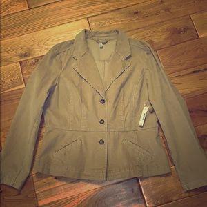 Vintage camel corduroy blazer. Extra large